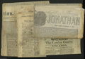 Miscellaneous:Other, Eighteenth and Nineteenth Century Newspapers including The MorningChronicle and London Advertiser, April 24, 1771, four... (5 items)