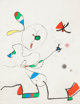 Joan Miró (1893-1983) La Chasse aux Papillions, 1975 Etching and aquatint in colors on Arches paper 26-1/8 x 19-7...