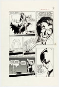 Original Comic Art:Panel Pages, Neal Adams and Dick Giordano Batman: Stacked Cards [Book andRecord Set] #PR27 Story Page 15 Joker Original Art (P...