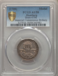 "German States:Hamburg, German States: Hamburg. ""Imperial Commission Bribery"" silver Medal ND (1708) AU58 PCGS,..."