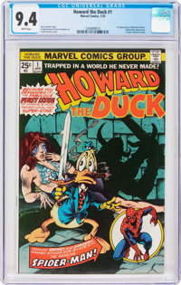 Howard the Duck #1 (Marvel, 1976) CGC NM 9.4 White pages