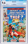 Bronze Age (1970-1979):Superhero, What If? #10 (Marvel, 1978) CGC NM+ 9.6 White pages....