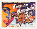 Movie Posters:Drama, I Was an American Spy (Allied Artists, 1951). Folded, Very...