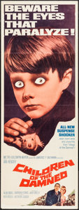 """Movie Posters:Science Fiction, Children of the Damned (MGM, 1963). Insert (14"""" X 36""""). ScienceFiction.. ..."""