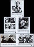 "Movie Posters:Action, Backdraft & Others Lot (Universal, 1991). Photos (23) (8"" X 10)& Color Slides (36) (2"" X 2"") Action.. ... (Total: 59 Items)"