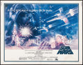 "Movie Posters:Science Fiction, Star Wars (20th Century Fox, 1977). Half Sheet (22"" X 28""). ScienceFiction.. ..."
