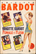 """Movie Posters:Foreign, The Light Across the Street (Fanfare Films, R-1960). Poster (40"""" X 60""""). Foreign. U.S. Reissue Title: Female and the Flesh..."""