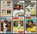 Baseball Cards:Lots, 1974 Topps Baseball Collection (847) Plus Traded (103) and TeamChecklists (6). . ...