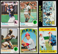 Baseball Cards:Lots, 1969 -1973 Topps Baseball Collection (351) With Stars and HoFers. ....