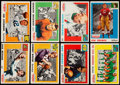 Football Cards:Sets, 1955 Topps All-American Football Complete Set (100). . ...