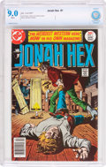 Bronze Age (1970-1979):Western, Jonah Hex #1 (DC, 1977) CBCS VF/NM 9.0 White pages....