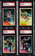 Autographs:Sports Cards, 1981 Topps Basketball Signed Card Collection (25).. ...