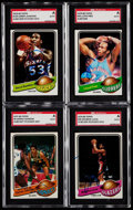 Autographs:Sports Cards, 1979 Topps Basketball Signed Card Collection (18).. ...