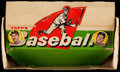 Baseball Cards:Unopened Packs/Display Boxes, 1958 Topps Baseball 5-Cent Wax Box (Empty).. ...