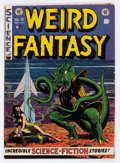 Golden Age (1938-1955):Science Fiction, Weird Fantasy #15 (EC, 1952) Condition: VG+....