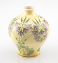 Ceramics & Porcelain, Sèvres Porcelain (French, founded 1745). Wildflower Cabinet Vase, 1904. Glazed and partial gilt porcelain. 4-3/4 inches ...