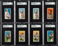 Baseball Cards:Lots, 1909-11 T206 SGC Graded Collection (8) from The Gary CarterCollection. . ...