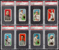 Baseball Cards:Lots, 1909-11 T206 PSA Graded Collection (8). . ...