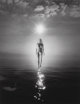 Jerry Uelsmann (American, b. 1934) Untitled (Nude in Sun Above Ocean), 1980 Gelatin silver 13-1/2 x 10-3/8 inches (34...