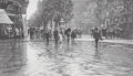 Photographs, Alfred Stieglitz (American, 1864-1946). A Wet Day on the Boulevard, Paris, 1897. Photogravure. 3-1/2 x 6-1/4 inches (8.9...