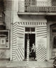 Walker Evans (American, 1903-1975) Barber Shop, New Orleans, 1936 Gelatin silver 9-5/8 x 7-1/2 inches (24.4 x 19.1 cm...