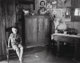 Walker Evans (American, 1903-1975) West Virginia Living Room, 1953 Gelatin silver 8 x 9-3/8 inches (20.3 x 23.8 cm)...