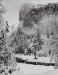 Photographs, Ansel Adams (American, 1902-1984). El Capitan, Winter, 1948. Gelatin silver, printed later. 9-1/2 x 7-1/2 inches (24.1 x...