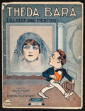 "Movie Posters:Photo, Theda Bara Lot (1916). Sheet Music (3) (10.5"" X 13.5""). Photo.. ...(Total: 3 Items)"