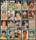 Autographs:Sports Cards, Signed 1957 Topps Baseball Cards Collection (20). ...