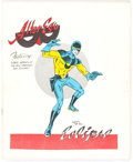 Magazines:Fanzine, Alter Ego V1#5 (Alter Ego Enterprises, 1962) Condition: VG/FN....