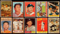 Baseball Cards:Lots, 1953 Through 1962 Mickey Mantle Collection (10). . ...