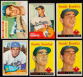 Baseball Cards:Lots, 1956 Through 1965 Topps Sandy Koufax Collection (6). . ...