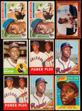 Baseball Cards:Lots, 1955 Through 1963 Hank Aaron Collection (9). . ...