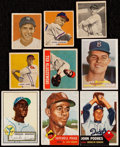 Baseball Cards:Lots, 1948 Through 1957 Baseball Rookie Collection (9). . ...