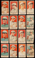 Baseball Cards:Sets, 1921 W551 Baseball Collection (16) With Ruth. ...