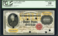 Fr. 1225c $10,000 1900 Gold Certificate PCGS Choice About New 58