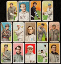 Baseball Cards:Lots, 1909-11 T205 & T206 Baseball Card Collection (27) - IncludesTolstoi, Overprints, & More. . ...