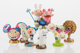 Takashi Murakami (b. 1962) Superflat Museum (set of six), 2005 PVC figures 4 x 2 inches (10.2 x 5.1 cm) (each) Seria...