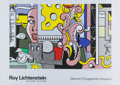 Fine Art - Work on Paper:Print, After Roy Lichtenstein. Go For Baroque Guggenheim Museum (exhibition poster), 1993. Screenprint in colors on paper. 27-3...