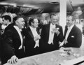 Photographs, Slim Aarons (American, 1916-2006). Kings of Hollywood: Clark Gable, Van Heflin, Gary Cooper, and James Stewart at Romanoff...