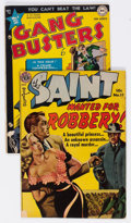Golden Age (1938-1955):Crime, Golden Age Crime Group of 2 (Various Publishers, 1950s).... (Total: 2 Comic Books)