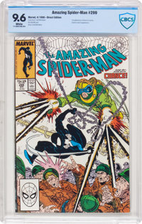 The Amazing Spider-Man #299 (Marvel, 1988) CBCS NM+ 9.6 White pages