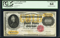 Large Size:Gold Certificates, Fr. 1225h $10,000 1900 Gold Certificate PCGS Very Choice New 64.....