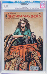 The Walking Dead #127 (Image, 2014) CGC NM/MT 9.8 White pages