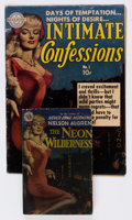 Golden Age (1938-1955):Romance, Intimate Confessions #1 Group (Realistic Comics, 1951) Condition:GD/VG.... (Total: 2 Items)