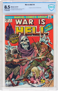 War Is Hell #9 (Marvel, 1974) CBCS VF+ 8.5 Off-white to white pages
