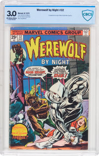 Werewolf by Night #32 (Marvel, 1975) CBCS GD/VG 3.0 Off-white to white pages