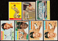 Baseball Cards:Lots, 1956-58 Topps Baseball Stars and HoFers Collection (7).. ...