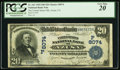 National Bank Notes:California, Azusa, CA - $20 1902 Date Back Fr. 643 The United States NB Ch. # (P)8074. ...