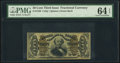 Fractional Currency:Third Issue, Fr. 1339 50¢ Third Issue Spinner Type II PMG Choice Uncirculated 64 EPQ.. ...
